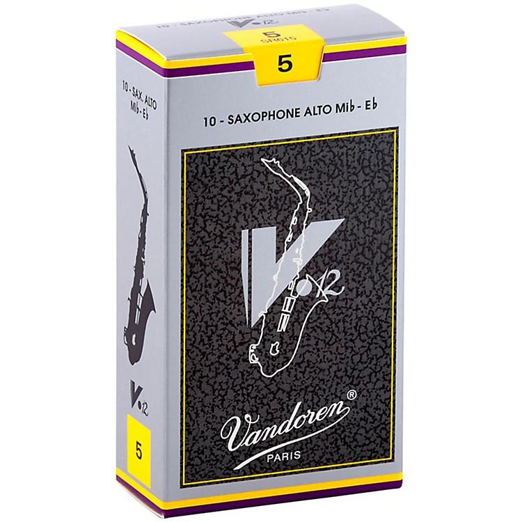 VandorenV12 Alto Saxophone ReedsStrength 5, Box of 10
