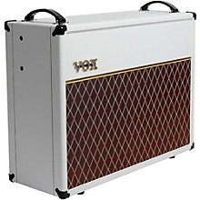 Vox V212C Limited 130W 2x12 Guitar Speaker Cabinet White Bronco