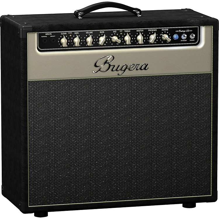 BugeraV55 55W 1x12 Tube Guitar Combo AmpBlack