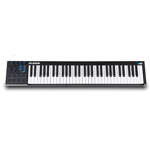 alesis v61 61 key keyboard controller musician 39 s friend. Black Bedroom Furniture Sets. Home Design Ideas