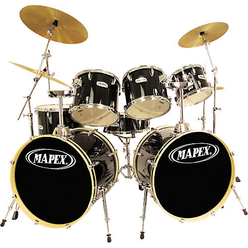 Mapex V7 Double Bass 7 Piece Drum Set