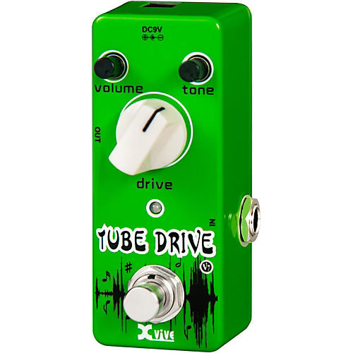 xvive v7 tube drive guitar effects pedal musician 39 s friend. Black Bedroom Furniture Sets. Home Design Ideas