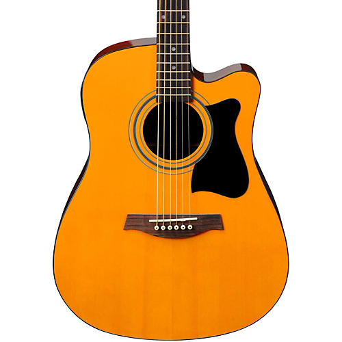 ibanez v70ce acoustic electric cutaway guitar musician 39 s friend. Black Bedroom Furniture Sets. Home Design Ideas
