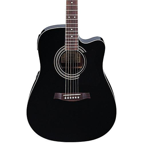 ibanez v70ce acoustic electric guitar musician 39 s friend. Black Bedroom Furniture Sets. Home Design Ideas