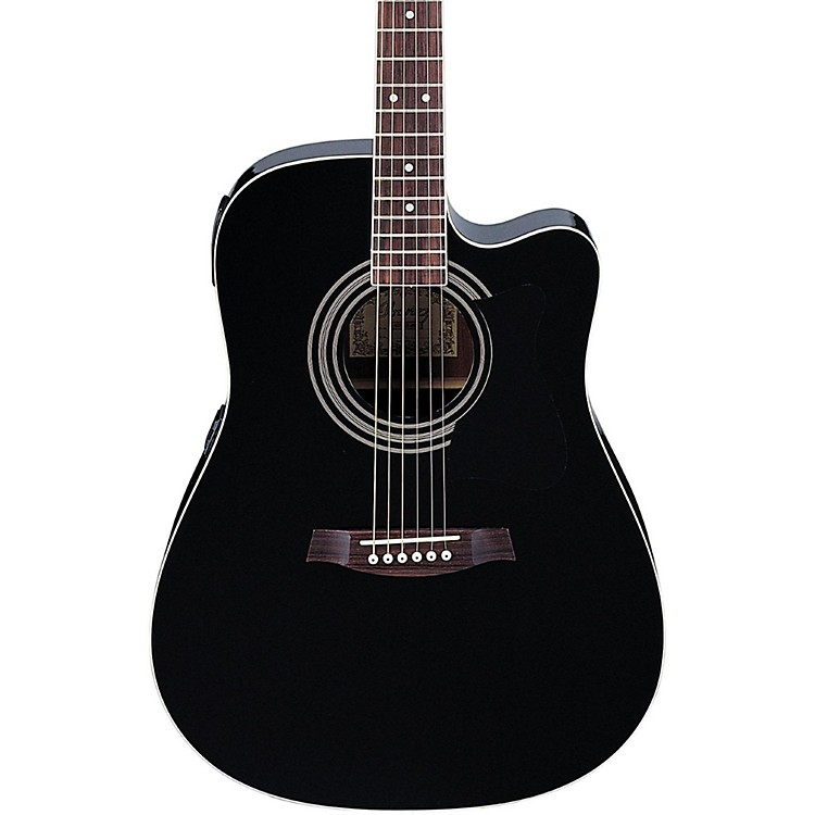 Ibanez V70CE Acoustic-Electric Guitar Black