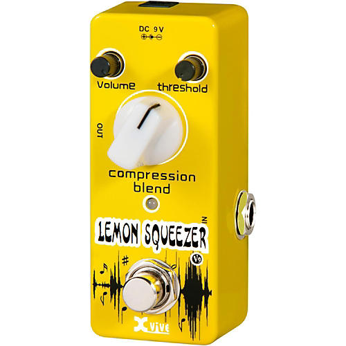XVive V9 Lemon Squeezer Guitar Effects Pedal-thumbnail