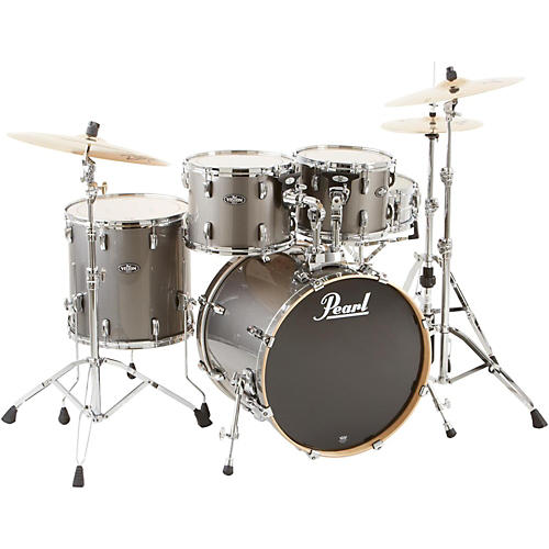 Pearl VBL Vision Birch 5 Piece Shell Pack Graphite with Chrome Hardware
