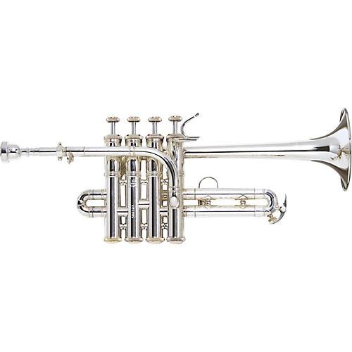 Bach VBS196 Vincent Bach Series Bb / A Piccolo Trumpet VBS196 Silver