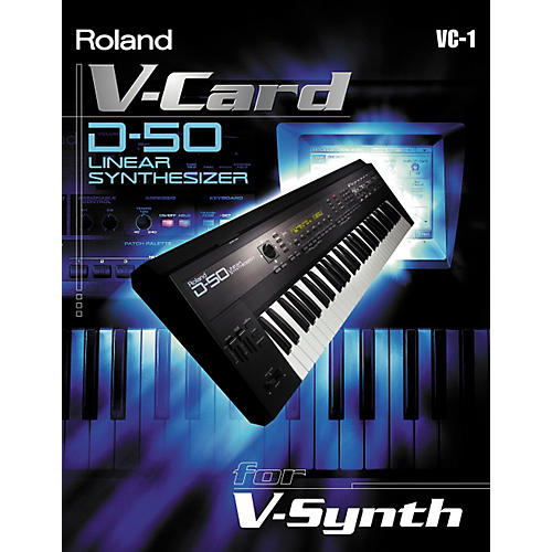 Roland VC-1 D-50 Synth V-Card-thumbnail