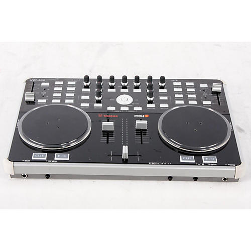 Vestax VCI-300 DJ Controller with Serato ITCH Black 888365211244