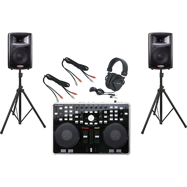 VestaxVCI-300 MKII / Harbinger APS12 DJ Package