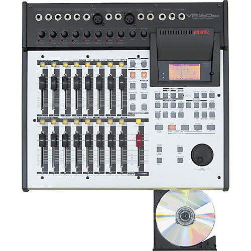 Fostex VF160EX 16-Track Recorder with CD Burner