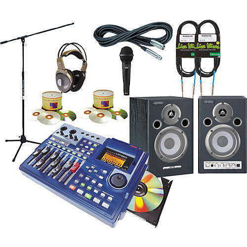 Fostex VF80CD All-In-One Recording Package