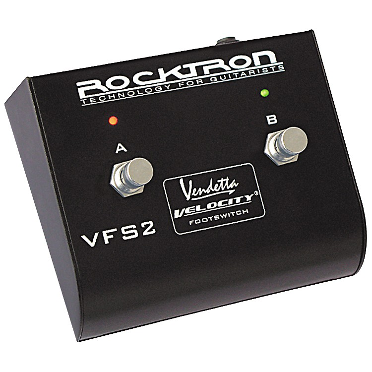 Rocktron VFS2 Double Guitar Footswitch Silver
