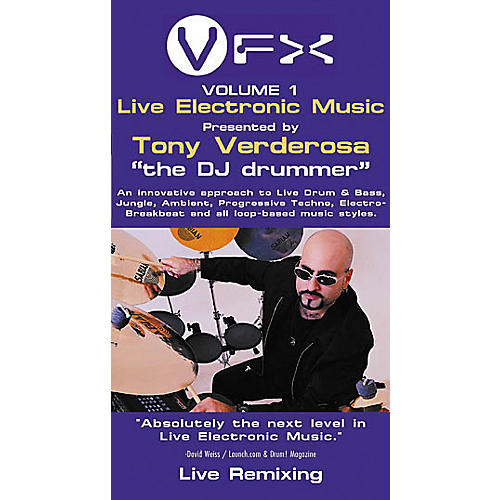 Hal Leonard VFX Volume 1 - Live Electronic Music (Video)