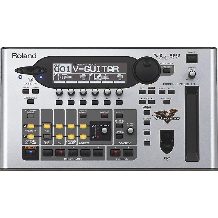 Roland VG-99 V-Guitar Multi Effects Processor System with GK-3 Pickup