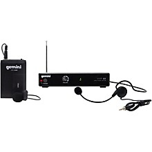 Open Box Gemini VHF-01HL Single Headset/Lavalier Wireless System