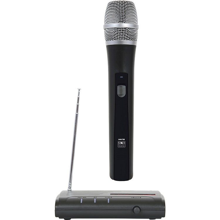 Galaxy Audio VHF Wireless Handheld Microphone System Freq Code V54