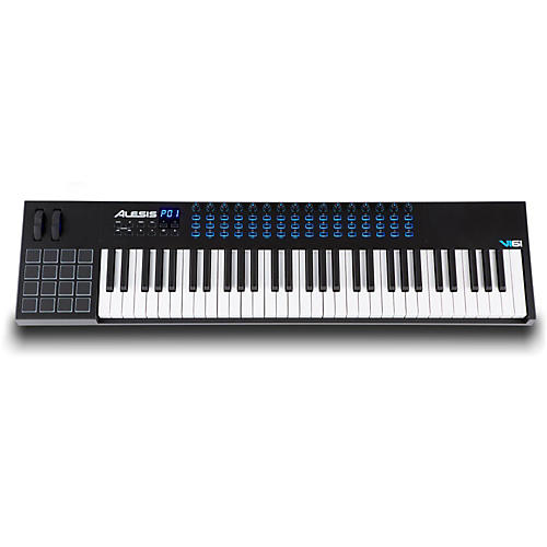 alesis vi61 61 key keyboard controller musician 39 s friend. Black Bedroom Furniture Sets. Home Design Ideas