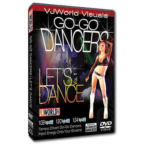 Global Creative Group VJ World Visuals - Go-Go Dancers DVD Series DVD-thumbnail