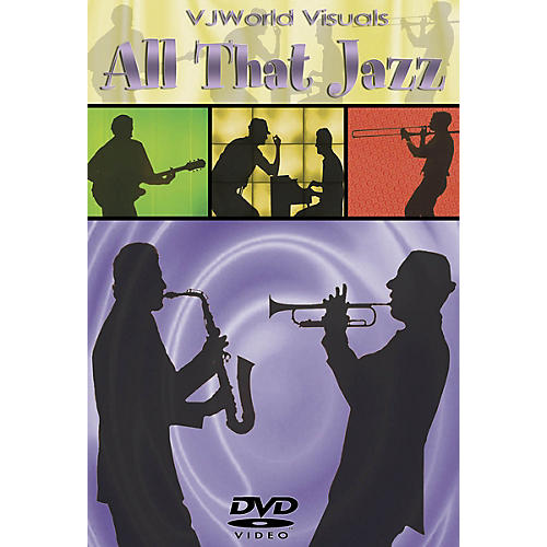 Global Creative Group VJWorld Visuals - All That Jazz DVD Series DVD Written by Various-thumbnail