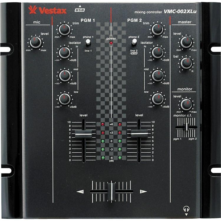 VestaxVMC-002XLu 2-Channel USB DJ MixerBlack