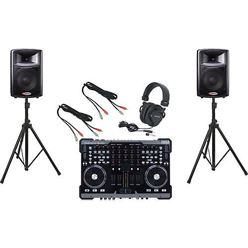 American Audio VMS4 / Harbinger APS12 DJ Package