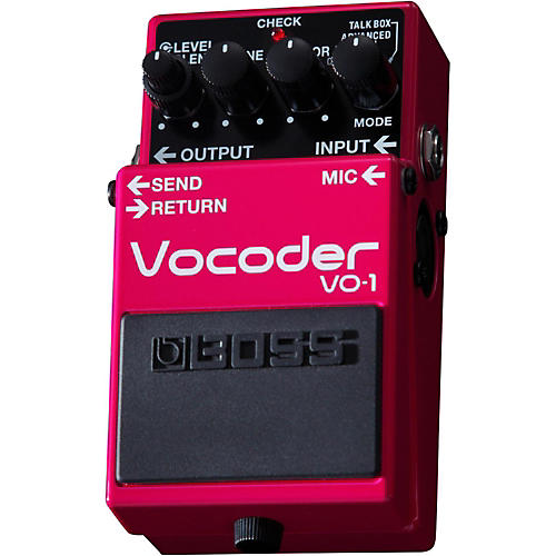 boss vo 1 vocoder effects pedal musician 39 s friend. Black Bedroom Furniture Sets. Home Design Ideas