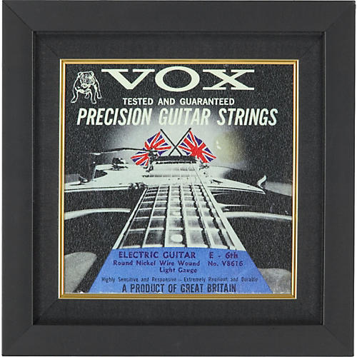 Gear One VOX Electric Guitar String Plaque-thumbnail