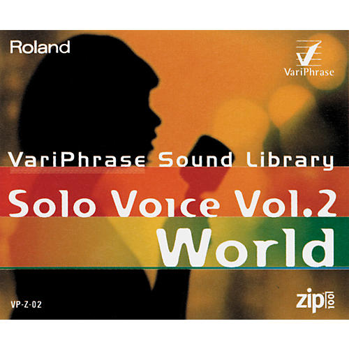 Roland VP-Z-02 VariPhrase Solo Voice Volume 2 World 100Mb Zip Disk-thumbnail