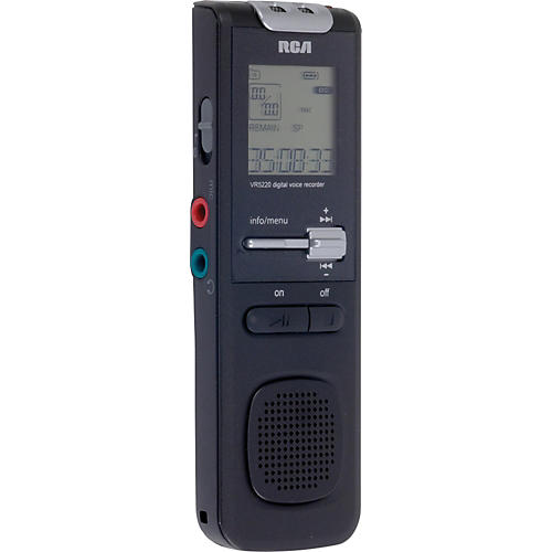 RCA VR5320R 1GB Digital Voice Recorder with Voice Management Software