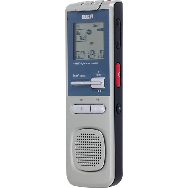 RCA VR5330R 2GB Digital Voice Recorder with Voice Management Software