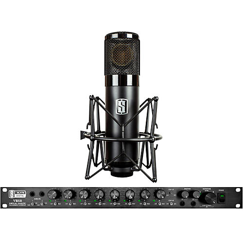 Slate Digital VRS-8 Thunderbolt Audio Interface and ML-1 Large-Diaphragm Modeling Microphone-thumbnail