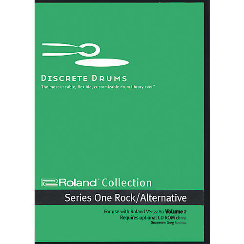 Discrete Drums VS 2480 Collection Volume 2 CD-ROM