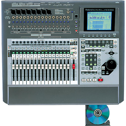 Roland VS-2480CD 24-Track Digital Studio with Built-In CD Burner