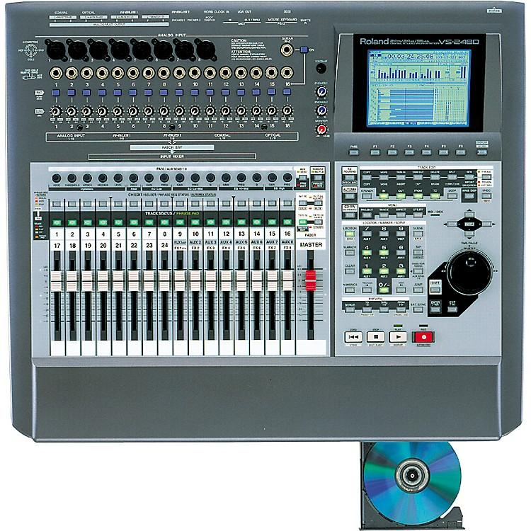 RolandVS-2480CD 24-Track Digital Studio with Built-In CD Burner