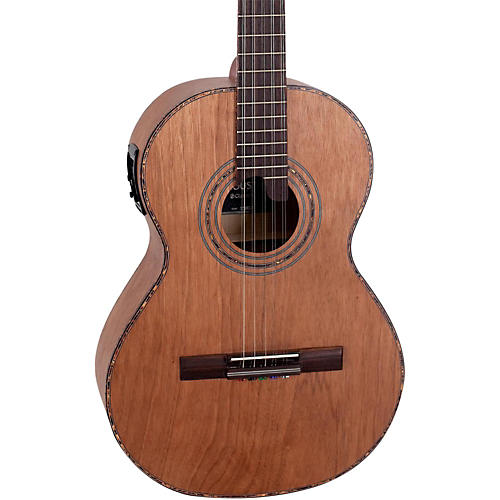Giannini VSA-2 EQ Catalpa Top Brazilian 10-String Acoustic-Electric Viola Catalpa