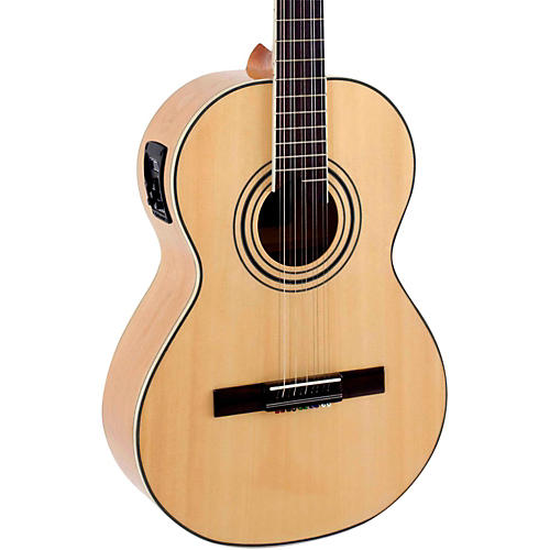 Giannini VSA-2 EQ Spruce Top Brazilian 10-String Acoustic-Electric Viola Natural