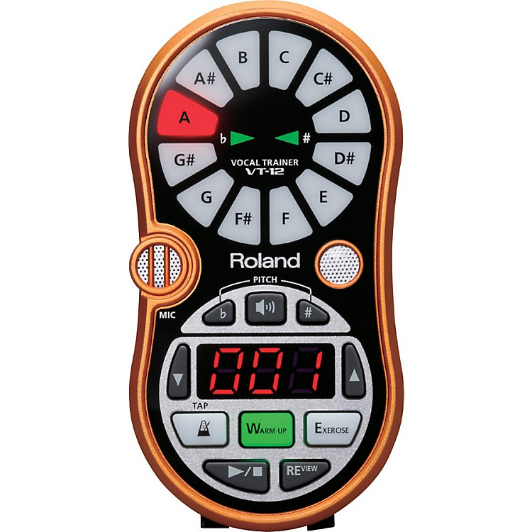 Roland VT-12 Vocal Trainer Metallic Orange
