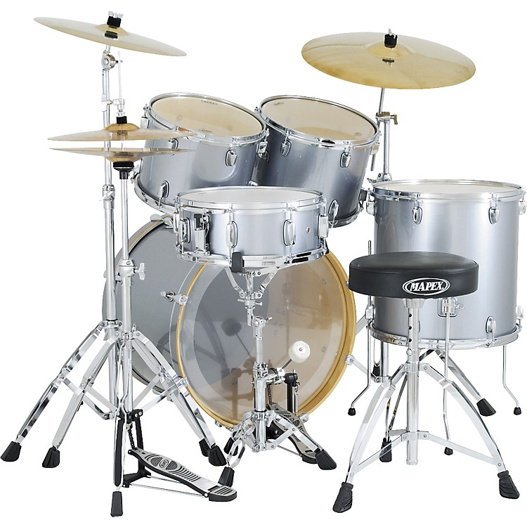 mapex vx 5 piece standard drum set musician 39 s friend. Black Bedroom Furniture Sets. Home Design Ideas
