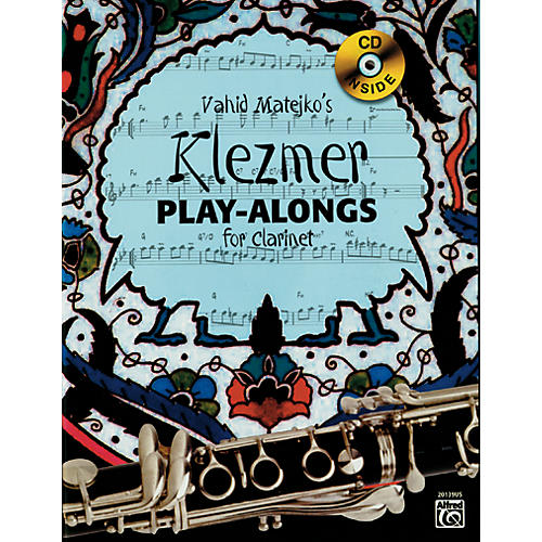 Alfred Vahid Matejko's Klezmer Play-Alongs for Clarinet Book & CD