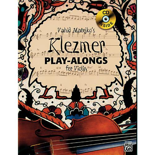 Alfred Vahid Matejko's Klezmer Play-Alongs for Violin Book & CD