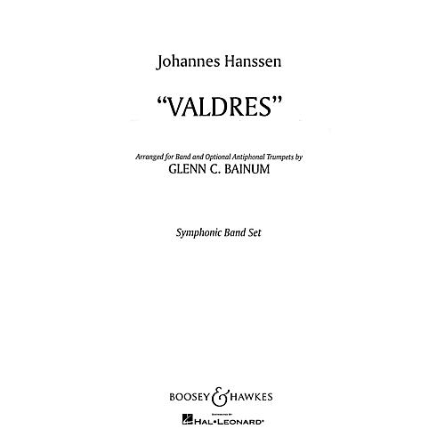 Boosey and Hawkes Valdres (Condensed Score) Concert Band Composed by Johannes Hanssen Arranged by Glenn Cliffe Bainum