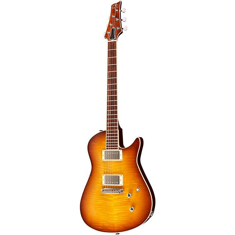 Giffin Guitars Valiant Electric Guitar Ice Tea Burst