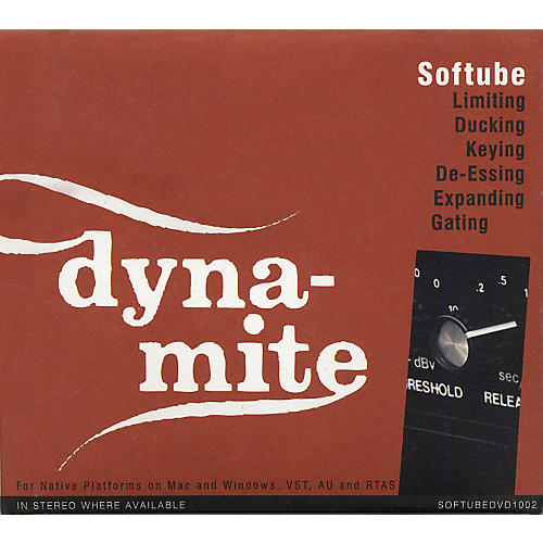 Softube Valley People Dyna-Mite Plug-in - Native Software  Download