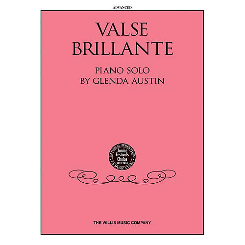 Willis Music Valse Brillante (Advanced Level) Willis Series by Glenda Austin-thumbnail