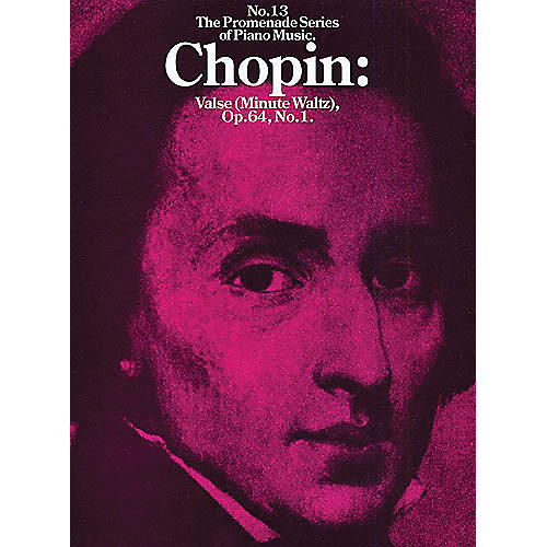 Music Sales Valse (Minute Waltz), Op. 64, No. 1 Music Sales America Series Composed by Frédéric Chopin-thumbnail