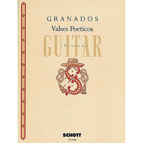 Schott Valses Poéticos (Guitar Solo) Schott Series-thumbnail