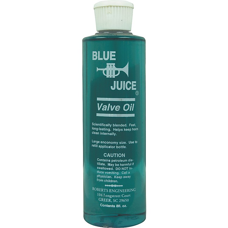 Blue Juice Valve Oil 8 oz Refill