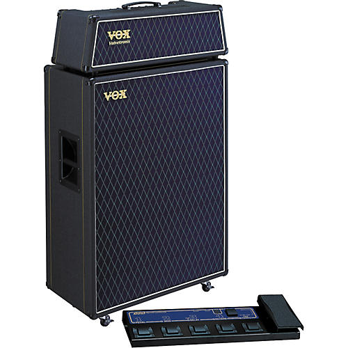 Vox Valvetronix AD120VTH / AD412 Half Stack Package with Foot Controller-thumbnail